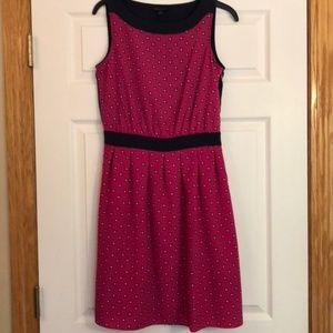 Tommy Hilfiger Sleeveless Pink/Navy Mini Dress- 6